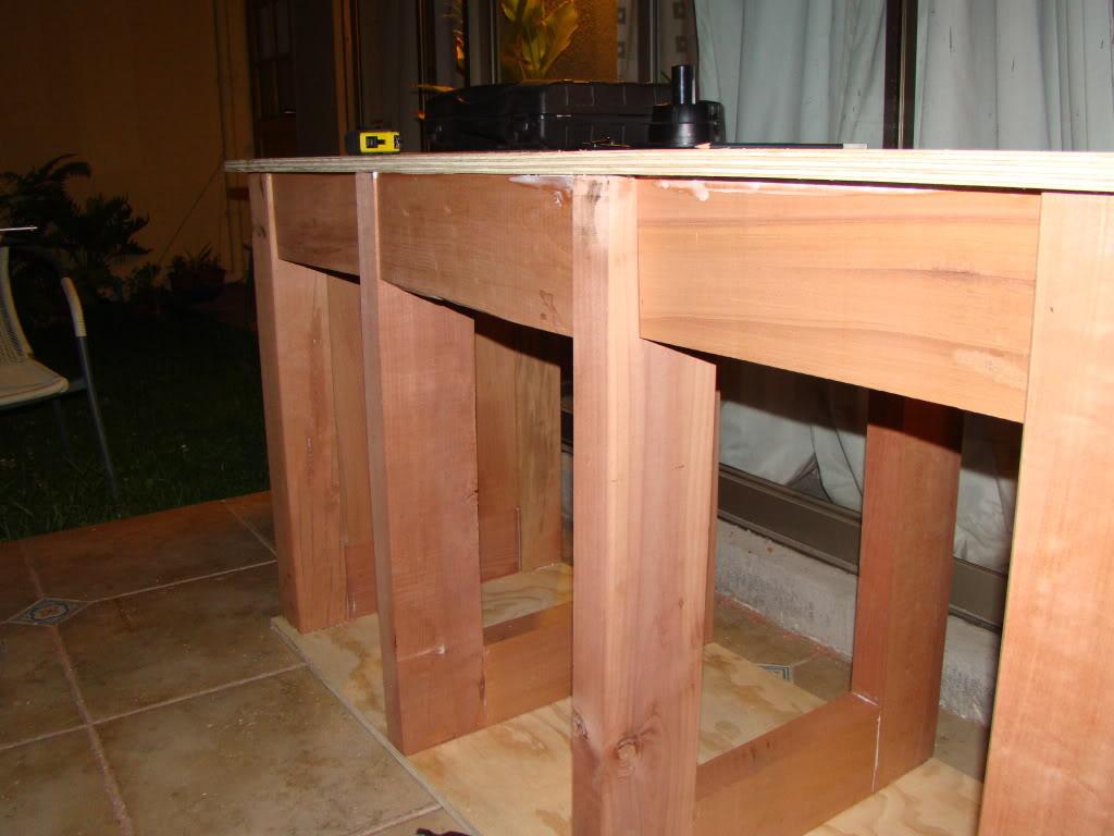 Mueble para acuario de discos acuaristas for Partes de un mueble de cocina