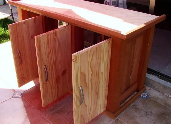 Mueble Para Acuario de Discos