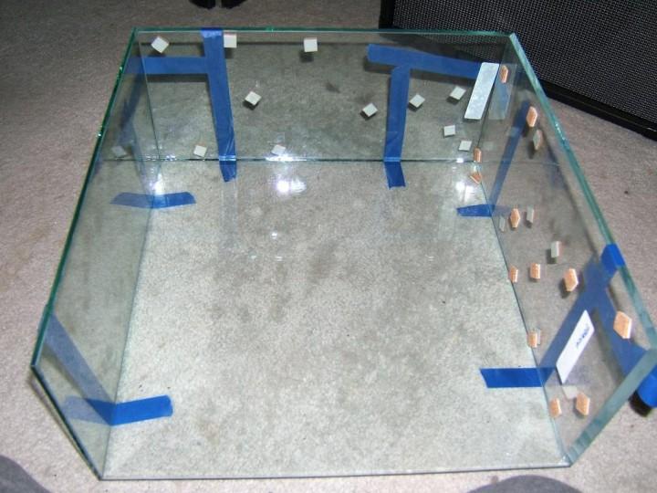 Construcción de la Caja de Vidrio